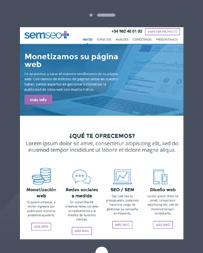 Web adaptativa Ipad